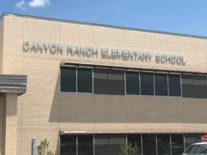 canyon ranch elementary school in coppell texas
