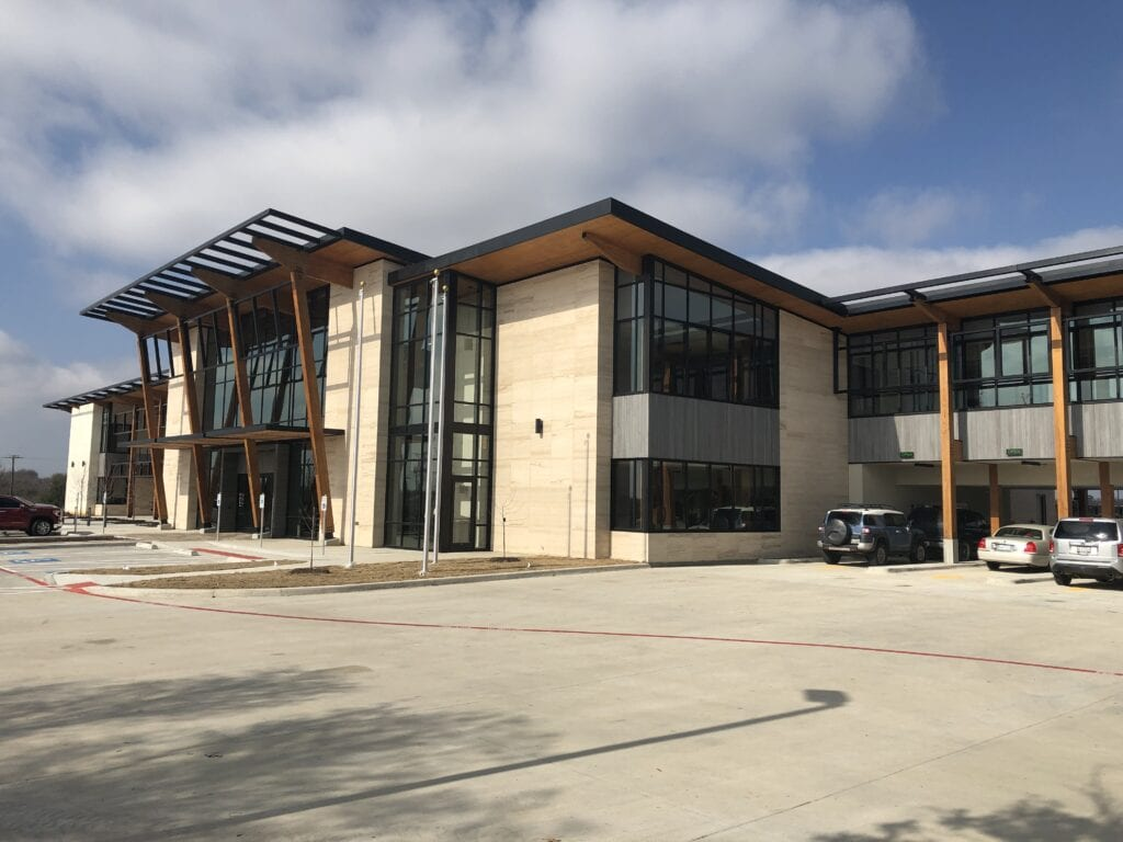 CHM finished project at first bank in sherman texas
