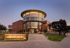 texas a&m commerce campus sam rayburn student center